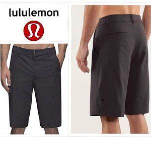 Lululemon Kahuna Golf Bermuda Shorts in Grey